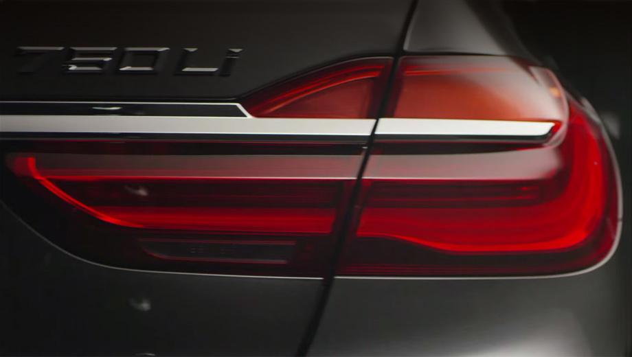Bmw 7. До сих пор компания BMW распространяла лишь фотографии закамуфлированного седана, а на днях выпустила видеотизер. Правда, в нём толком рассмотреть можно лишь фонарь.