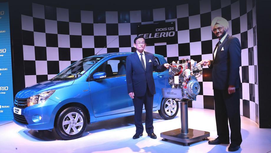 Suzuki celerio. Дизельный Celerio стартует на индийском рынке с базовой ценой 465 393 рупий (406 000 рублей).