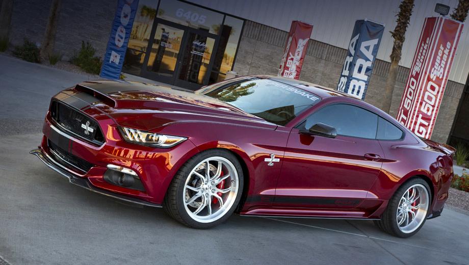 Ford mustang. В бюро Shelby American сообщили, что готовы взяться за доработку всего 300 экземпляров купе Mustang GT.