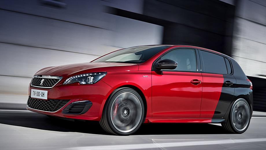 Peugeot 308 gti,Peugeot 308. Первый публичный показ новинка справит через неделю на «Фестивале скорости» в Гудвуде.