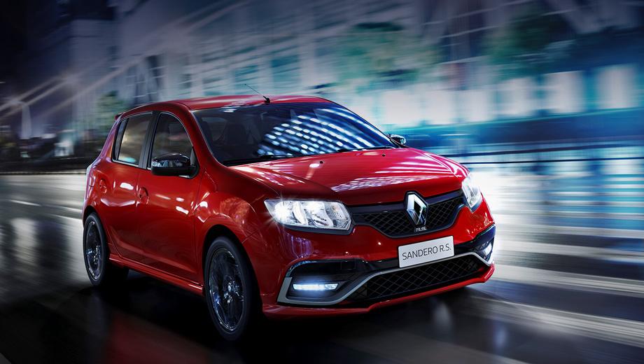 Renault duster,Renault sandero,Renault duster oroch,Renault sandero rs. Хэтч Sandero RS — первый автомобиль, разработанный специалистами Renault Sport, который будет выпускаться за пределами Европы. Модель планируют продавать пока только в Южной Америке, но не исключено, что она появится и на других рынках.