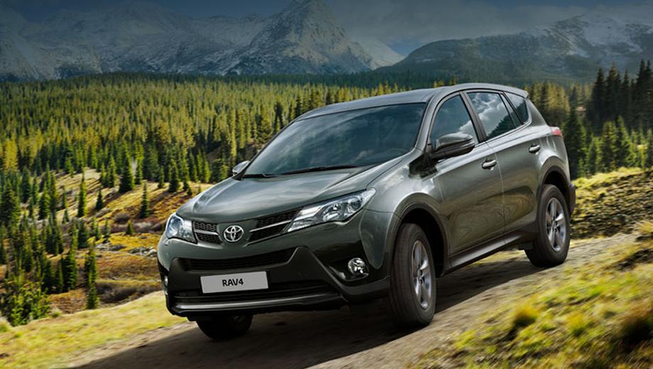 Toyota rav4. Сейчас переднеприводный кроссовер Toyota RAV4 со 146-сильным мотором и «механикой» стоит 998 000 рублей.