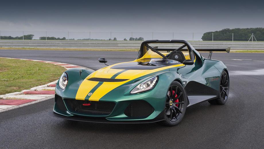 Lotus 3eleven. Перед нами не только самый способный на треке и самый динамичный, но и самый дорогой серийный Lotus.