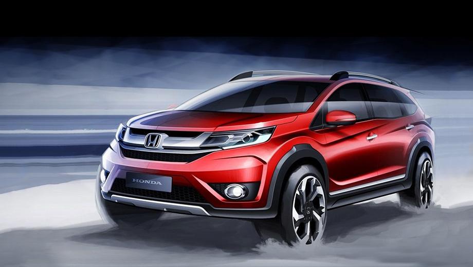 Honda br-v. Разработкой экстерьера занимаются специалисты тайской дизайн-студии компании Honda.