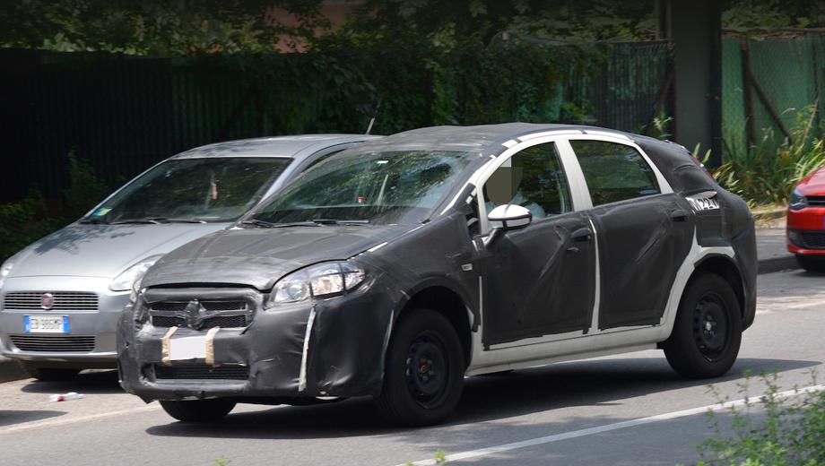 Fiat bravo,Fiat aegea. Фары и двери от Линеи вносят путаницу. В итоге у машины должно быть оформление, как у новинки Aegea.
