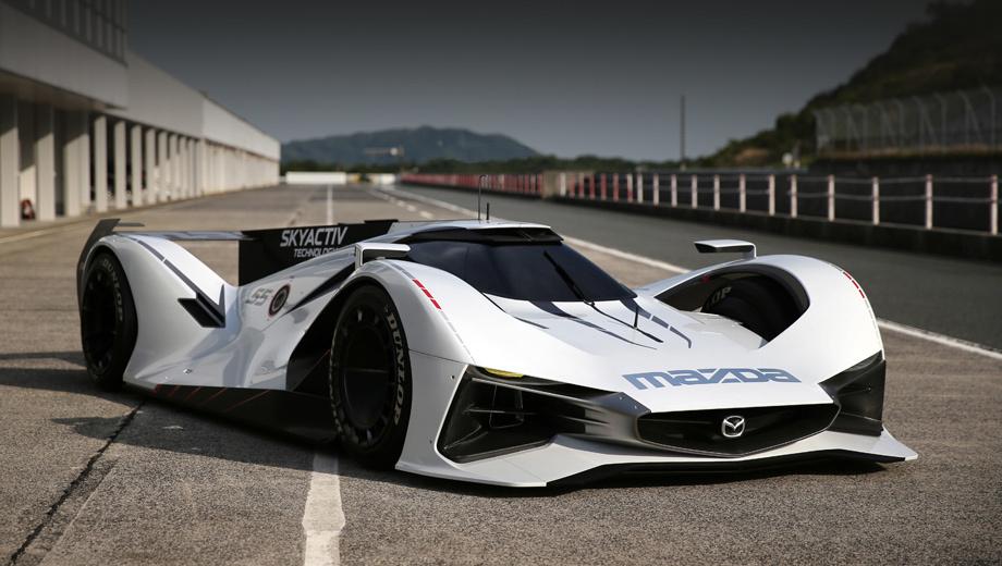 Mazda lm55,Mazda mx-5. Создатели полагают, что, несмотря на всю свою устремлённость в будущее, автомобиль соответствует нынешнему дизайнерскому языку марки — Kodo («душа движения»).