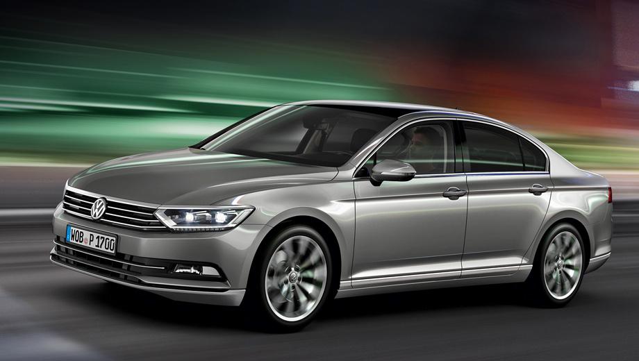 Volkswagen passat. Российская спецификация Пассата включает в себя перенастроенную подвеску, электроподогрев руля (стандартно начиная с версии Comfortline), передних сидений, наружных зеркал, лобового стекла и форсунок омывателя.