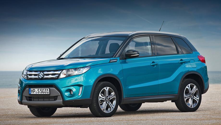 Suzuki vitara. Официальный старт продаж нового паркетника в нашей стране — 3 августа.
