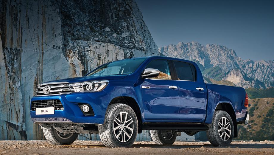 Toyota hilux. При смене поколения ревизии подверглась техническая начинка пикапа Hilux, начиная с рамы. Была модернизирована рессорная подвеска.
