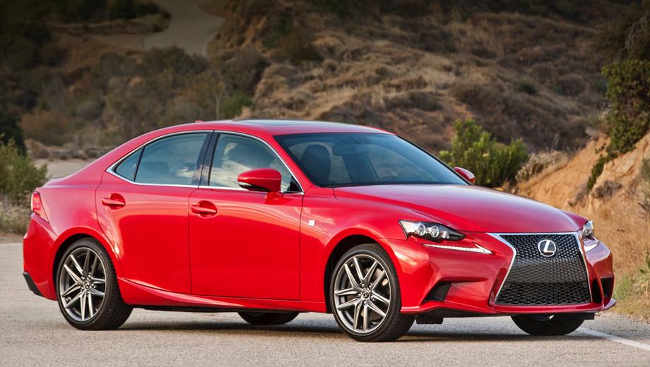 Lexus is. В Америке модернизированные седаны Lexus IS поступят в продажу в ближайшее время.