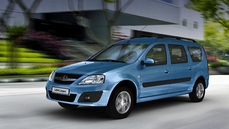 Lada kalina,Lada largus. В гамму двигателей, доступных для универсала Lada Largus, входят бензиновые моторы объёмом 1,6 л мощностью 84 или 105 л.с. Для Калины доступны агрегаты мощностью 87, 98 или 106 сил.
