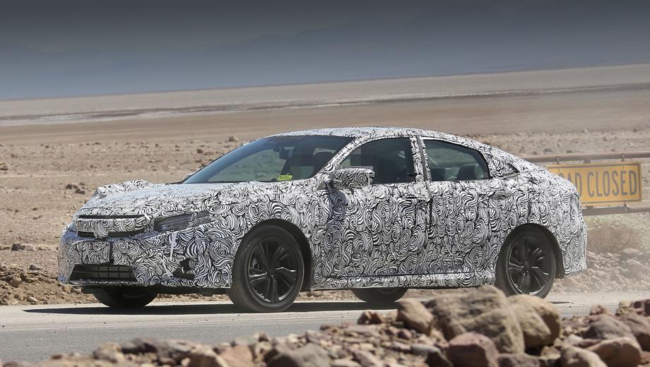 Honda civic. Компания обещает, что в новом поколении Сивика поднимет на новый уровень удовольствие от вождения. Судя по первым данным, и комфорт не будет забыт.