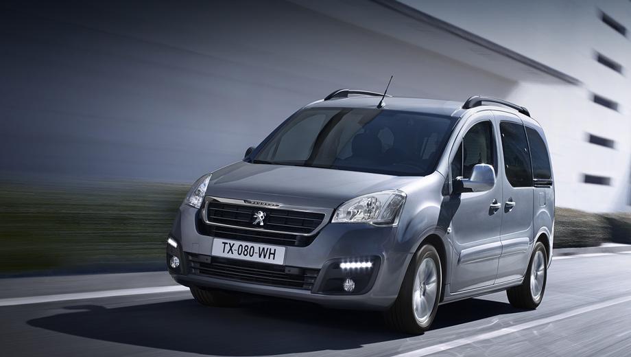 Peugeot partner. От дореформенной машины рестайлинговые «каблучки» Partner отличаются решёткой радиатора, бамперами и оптикой.