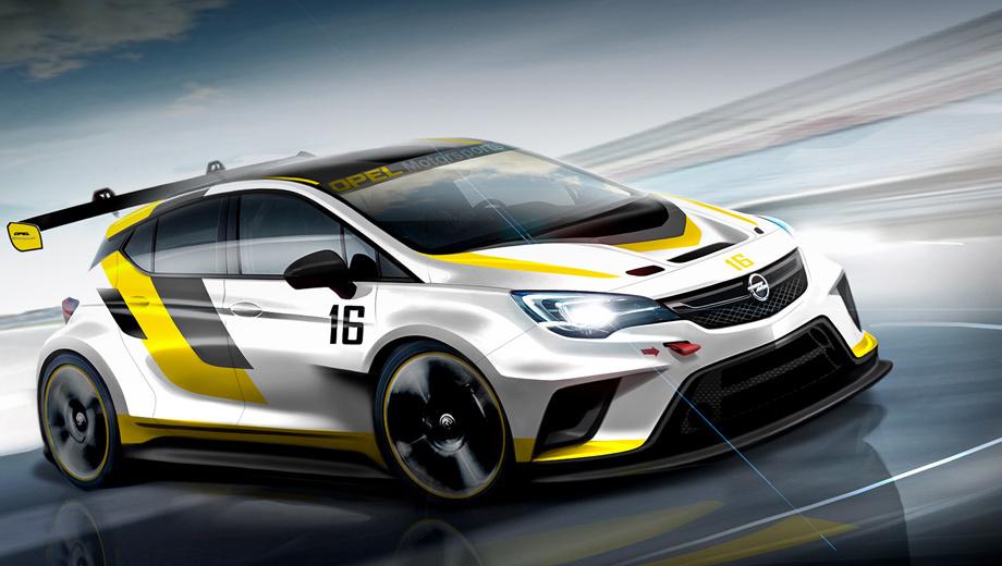 Opel astra,Opel astra tcr. По словам представителя Опеля Тины Мюллер, основной аудиторией новой модели Astra TCR станут частные команды, которые получат конкурентоспособный гоночный автомобиль за небольшие деньги.