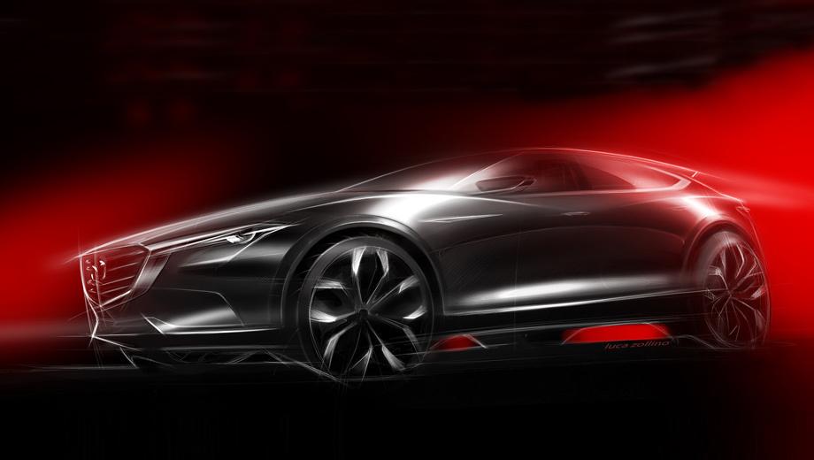 Mazda koeru,Mazda cx-4,Mazda concept. Новинка будет выполнена в фирменном стиле Kodo, при этом создатели машины обещают ассоциацию с «силой диких животных».