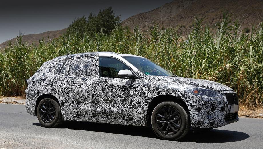 Bmw x1. Маловероятно, что премьера этой машины состоится на ближайшем автошоу во Франкфурте в сентябре. Скорее всего, новинку покажут в январе 2016-го в Детройте.