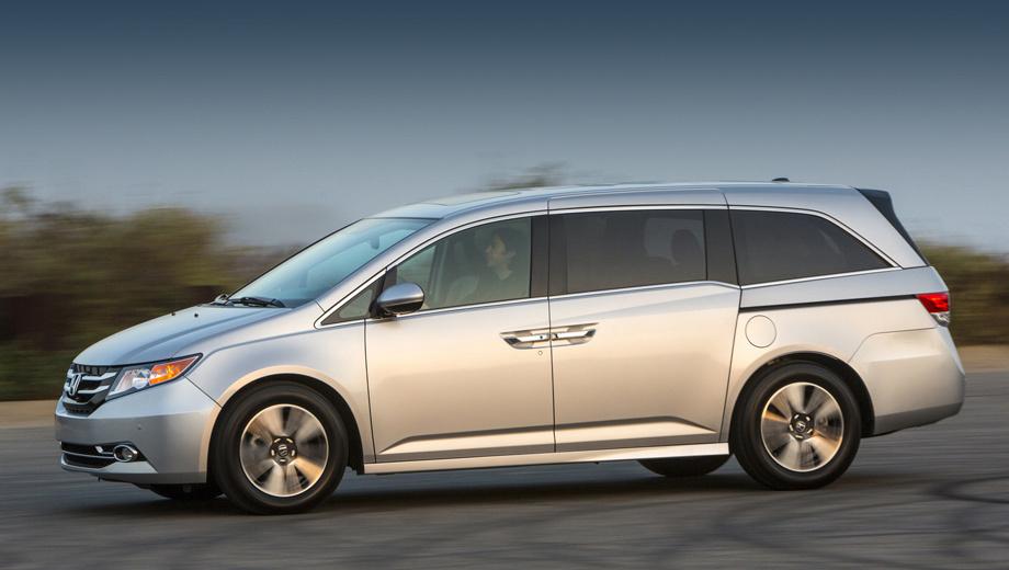 Honda odyssey. Минивэн Odyssey для США в данный момент представляет собой четвёртое поколение. Модель выпускается с 2010 года (рестайлинг проходил в 2013-м).