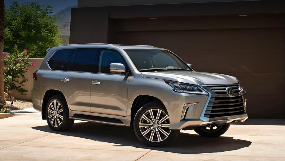 Lexus lx,Lexus gs. Производитель уверяет, что из наружных деталей «эль-икса» нетронутыми остались разве что дверные панели. В стандартном оснащении — полностью светодиодная оптика и новые 20-дюймовые колёсные диски (21 дюйм — опция).