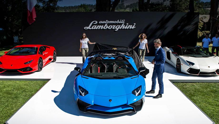 Lamborghini aventador,Lamborghini aventador sv roadster. Несмотря на увеличение веса на полцентнера (с 1525 у купе до 1575 кило родстера), этот Aventador разгоняется до сотни лишь на 0,1 с медленнее — за 2,9 с.