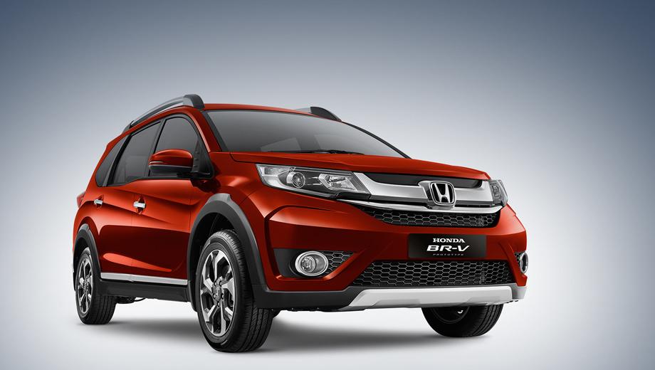 Honda br-v. Разработкой облика кроссовера BR-V занималась тайская дизайн-студия компании Honda. По словам создателей, автомобиль понравится семейным людям и любителям путешествий.