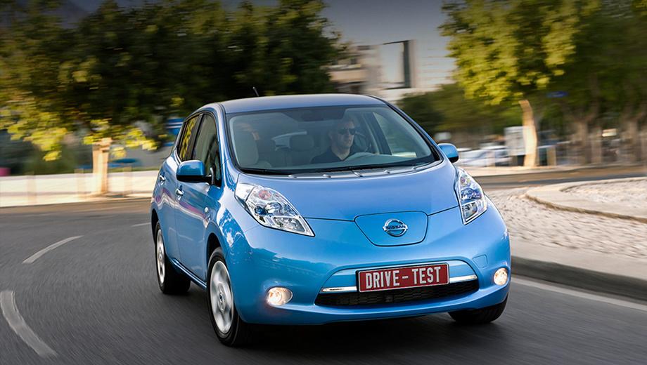 Nissan leaf. Награды на Nissan Leaf, дебютировавший осенью 2009 года, сыплются как из рога изобилия. Ещё до начала продаж его назвали Автомобилем 2011 года в Европе, а затем и мировым Автомобилем года.