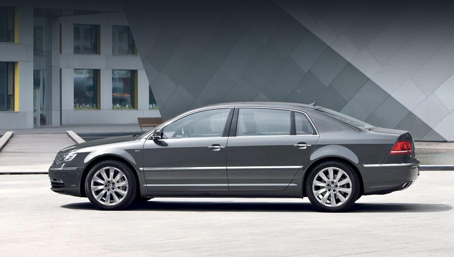 Volkswagen phaeton. В Германии Phaeton продаётся по цене от 89 650 евро (только с мотором V8 4.2). Седан Audi A8 с четырёхлитровым агрегатом стоит 102 300.