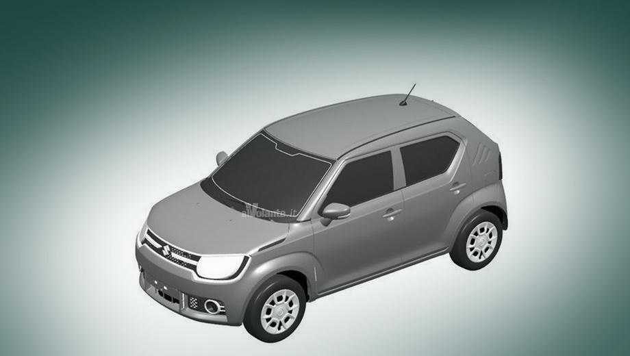 Suzuki im-4. Автомобиль максимально близок к концепту. Из заметных перемен — крепление зеркал. Оно переехало из уголка стекла на дверь. Ещё заднее стекло немного изменило форму.