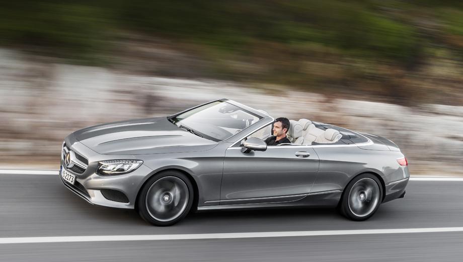 Mercedes s,Mercedes s cabriolet,Mercedes s amg,Mercedes s amg cabriolet. Длина, ширина и высота новинки — 5027, 1899 и 1417 мм.