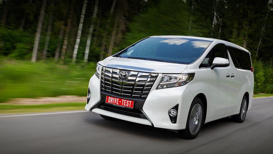 Toyota alphard. Цены на Alphard в России начинаются с 2 998 000 рублей: тут уже и двигатель V6, и раздельные кресла второго ряда. Наша подопытная топ-модель на 600 тысяч дороже.
