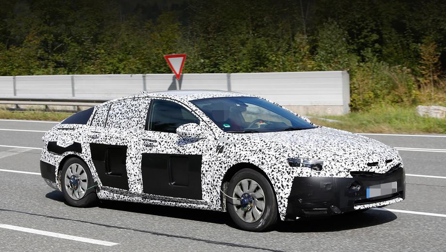 Opel insignia. Во внешности новой Инсигнии останется мало узнаваемого, а носом она должна напоминать концепт 2013 года по имени Monza.