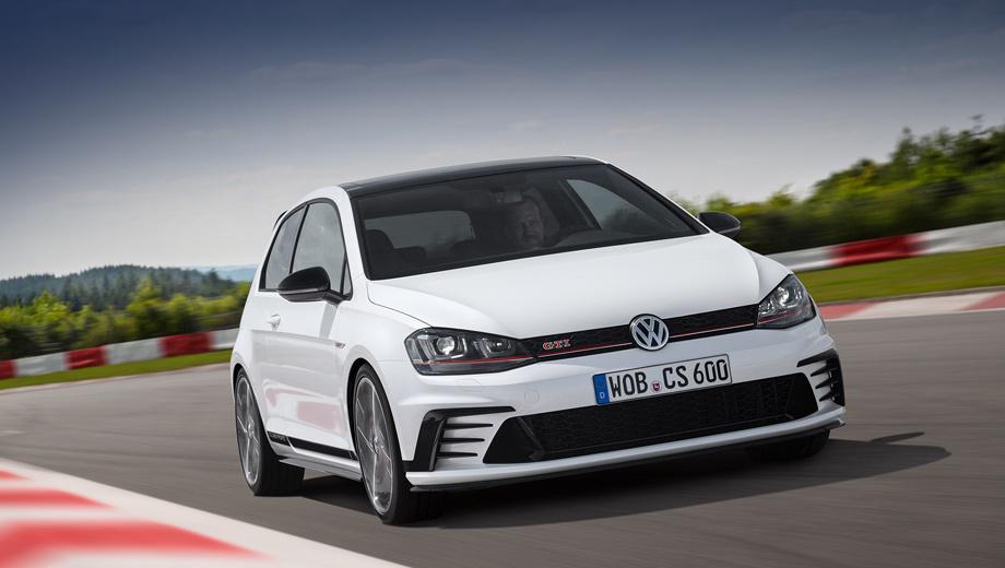 Volkswagen golf gti. Интересно, что при столь внушительной мощи расход топлива на «ручке» составляет 6,9 л/100 км, а с «роботом» на 0,2 л меньше. Выбросы CO2 с DSG тоже скромнее: 155 против 160 г/км.