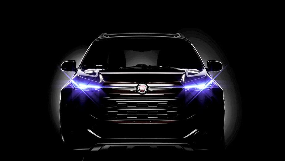 Fiat toro. Судя по этому изображению, внешне серийный пикап будет напоминать прошлогодний концепт Fiat FCC4.