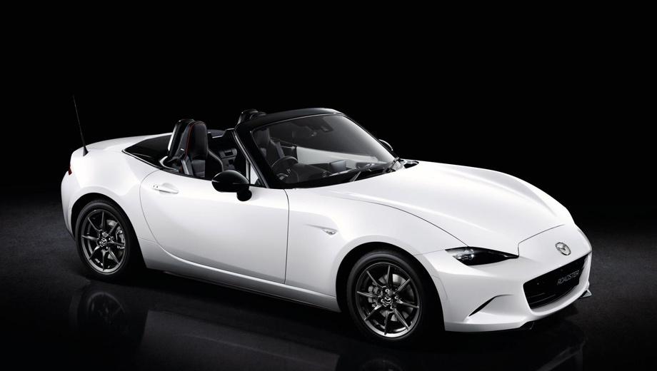 Mazda mx-5,Mazda mx-5 cup,Mazda mx-5 rs. В оснащение «эр-эски», помимо прочего, вошли адаптивные фары с автоматическим переключением дальнего света. Однако внешне отличить машину от сестёр трудно, разве что по красной окантовке кресел.