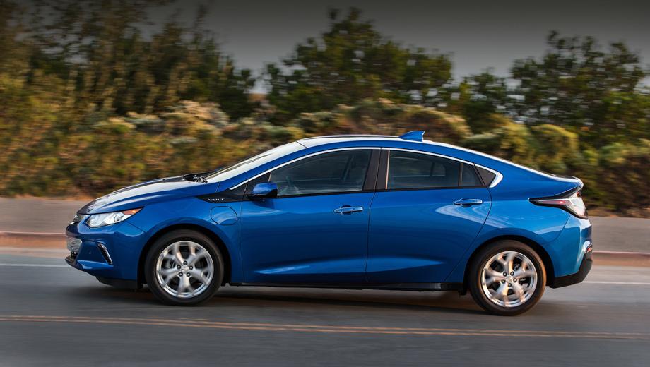 Chevrolet volt. Автомобиль, способный двигаться в режиме электрокара, хорошо подходит на роль автономного аппарата.