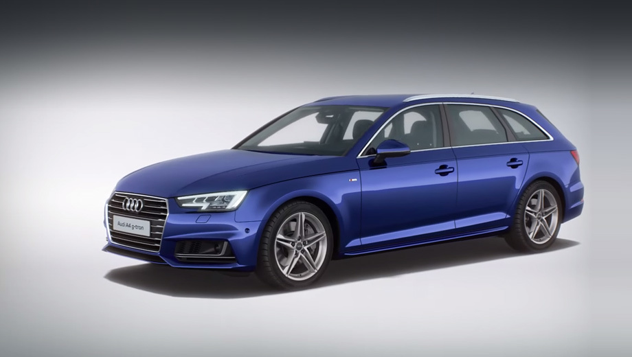 Audi a4. На природном газе выбросы CO2 — менее 100 г/км, на синтетическом — условно можно считать нулевыми. Пробег в 100 км обойдётся немецкому водителю в четыре евро. Тот же универсал с бензиновым турбомотором 1.4 потратит около семи евро, а с двухлитровым дизелем — 4,56.
