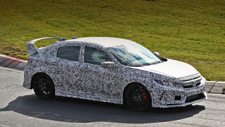 Honda civic,Honda civic type r. Инсайдеры утверждают, что первые официальные подробности об автомобиле появятся не раньше 2017 года.
