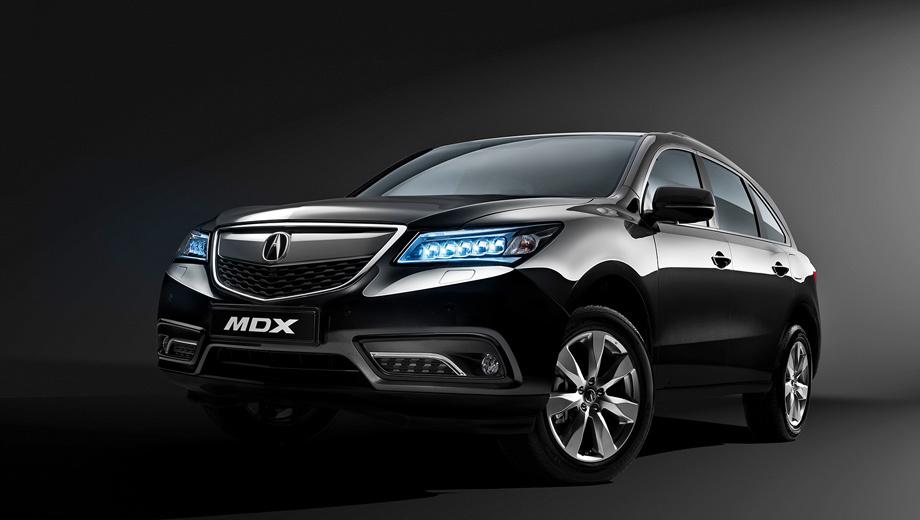Acura mdx. На машине появилось новое поколение системы полного привода SH-AWD. Она эффективнее перераспределяет крутящий момент между осями, а сама на четверть легче предыдущей конструкции.