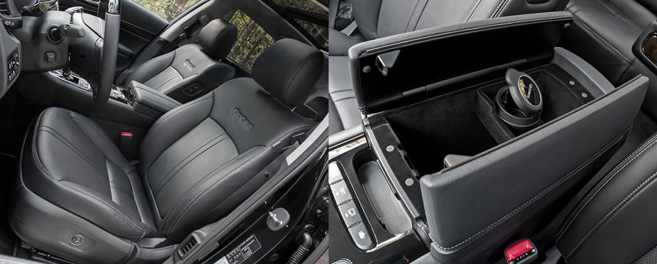 Находим избыточной мощь обновлённого седана Kia Quoris