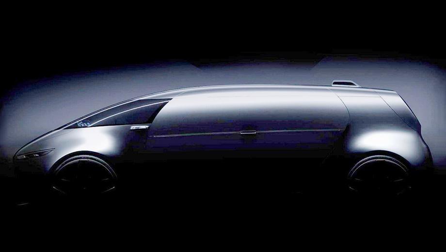 Mercedes vision,Mercedes concept. Тизер раскрыл главную тайну концепта — откровений во внешности ждать не стоит, он почти точная копия шоу-кара F 015 Luxury in Motion.