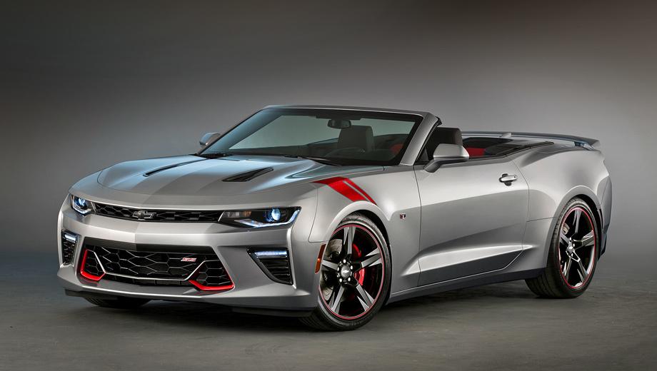 Chevrolet camaro,Chevrolet camaro ss. На американском рынке продажи кабриолета Chevrolet Camaro SS стартуют в начале следующего года. Возможно, чуть позже покупателям предложат и программу персонализации для этой модели.