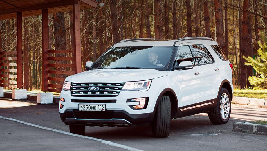 До России добрался новый внедорожник Ford. Известны цены