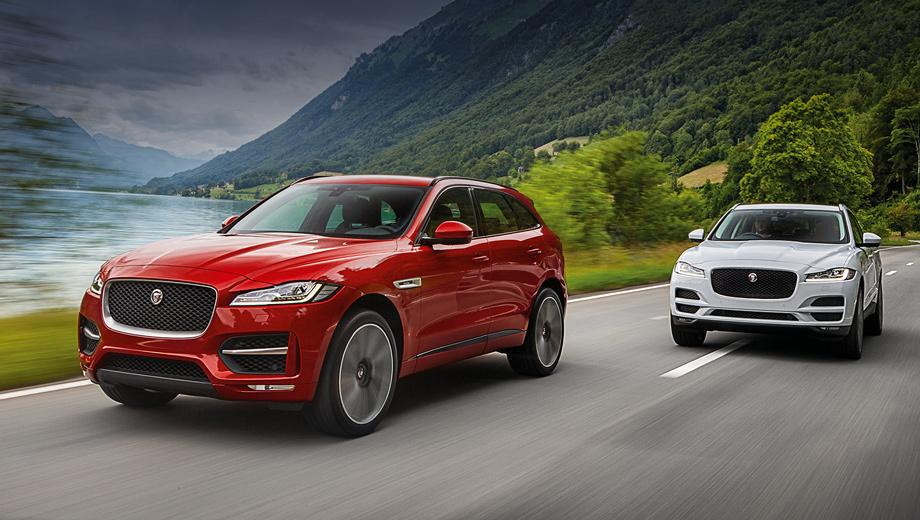 Jaguar e-pace. Слухи о том, что компания планирует создать модели и меньше, и крупнее, чем F-Pace (на фото), появились ещё до того, как среднеразмерный кроссовер был представлен официально.