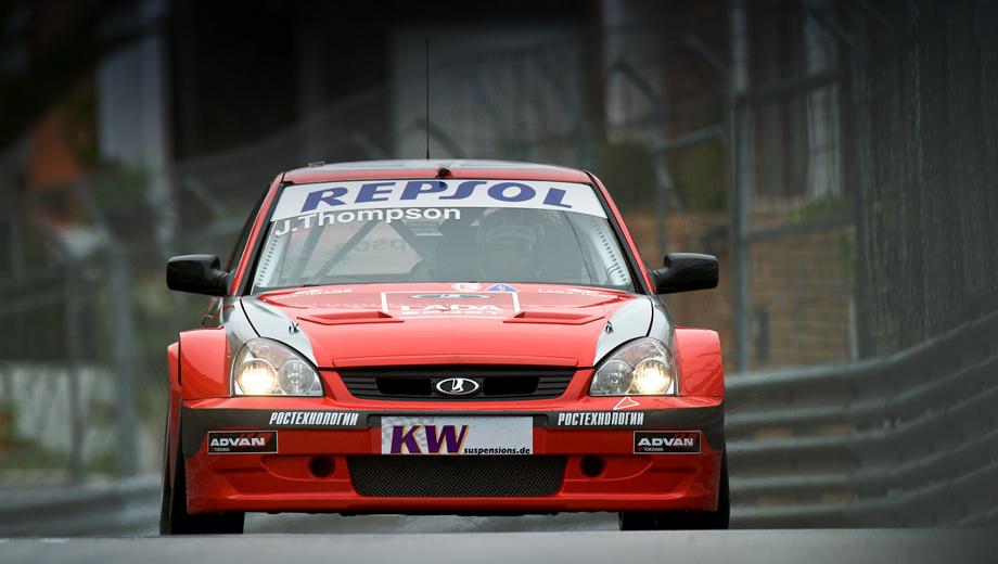 Lada sport. Появление гоночной версии седана Lada Priora — ключевой момент. Выступление в мировом туринге окончательно превратилось из частного бизнеса в статью расходов госкорпорации. А ведь это около четырёх миллионов евро за сезон.