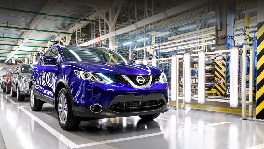 Nissan qashqai,Nissan teana. В прошлом году Qashqai был самым популярным паркетником Ниссана, в нынешнем уступил «икс-трейлу». Начало сборки в Северной столице поможет вернуть позиции.