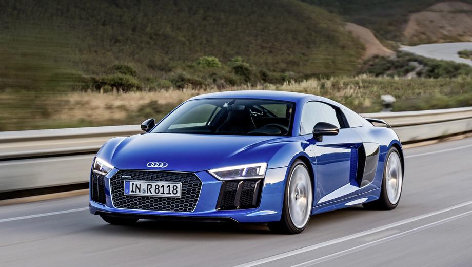 Audi R8 v10 plus - первые впечатления