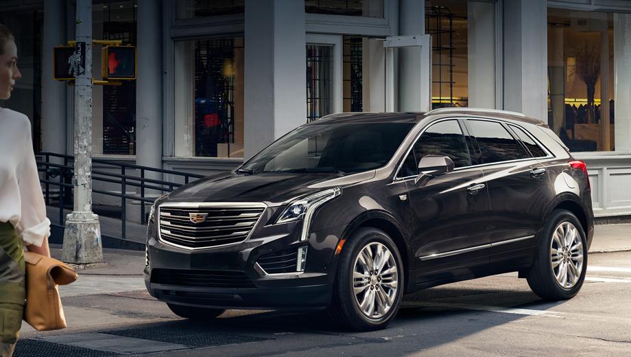 Cadillac xt5. Анфас угадываются черты флагманского седана Cadillac CT6. Это неудивительно, ведь именно он первым примерил новое корпоративное лицо.