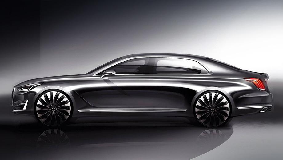 Раскрыта внешность преемника седана Hyundai Equus — ДРАЙВ