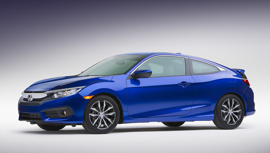 Honda civic,Honda civic coupe. Светодиодные ходовые огни, а также фонари с LED-элементами входят в список стандартного оборудования модели.