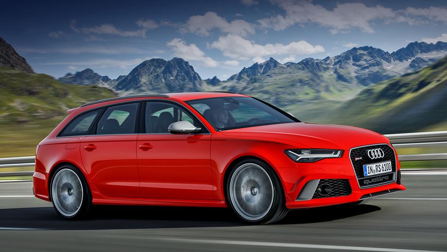 Audi rs6,Audi rs7. Динамические характеристики обеих машин идентичны: разгон до сотни — 3,7 с, до 200 км/ч — 12,1.