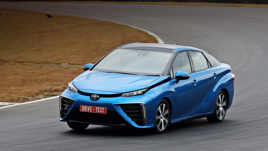 Toyota mirai. Седан Mirai ― примерно десятый тойотовский водородомобиль (конкуренты, например, из концерна Daimler их построили не меньше), но первый, покупать который должны тысячами уже в следующем году. За первый месяц продаж в Японии собрано 1500 заявок.